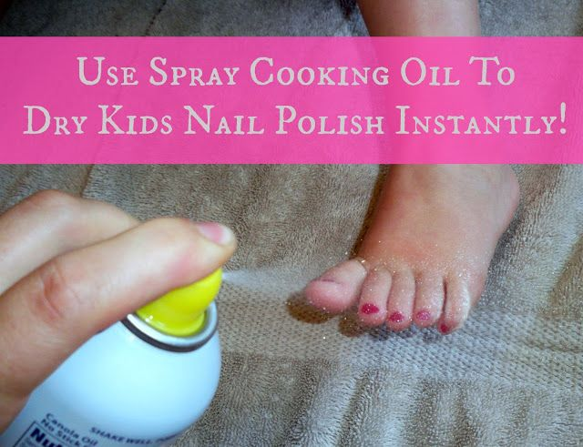 A Bunch of Bishops: How To Dry Kids Nail Polish FAST!