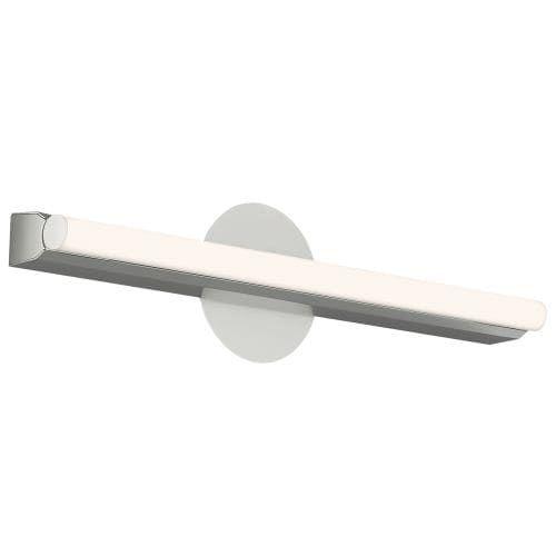 LBL Lighting LN0SILED Linea 1 Light Low-Voltage LED ADA Compliant Bath Bar, White opal (Glass)