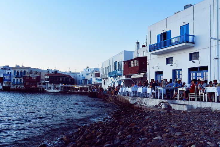 Little Venice #Mykonos #passionforgreece
