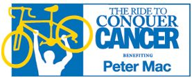 The Ride to Conquer Cancer® benefiting the Peter MacCallum Cancer Centre is for anyone who wants to challenge themselves for a great cause. All you need is motivation, a bike and a helmet. The money you raise for The Ride will benefit Peter Mac, the only public hospital in Australia solely dedicated to cancer. YOUR epic ride will move us closer to a cancer-free tomorrow.