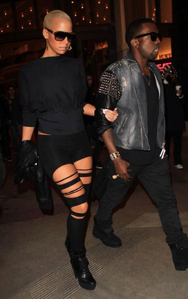 kanye west amber rose | amber rose and kanye west. Kanye-West-Amber-Rose-Date