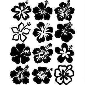 Hibiscus et feuilles galerie de photo mod le tatouage - Dessin d hibiscus ...