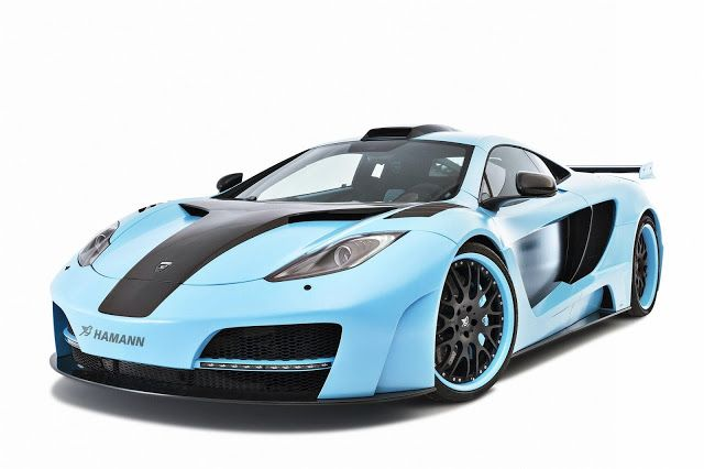 Hamann McLaren MP4-12C Blue