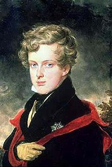 """Napoléon II (20 March 1811 – 22 July 1832), after 1818 known as Franz, Duke of Reichstadt, was the son of Napoleon I, Emperor of the French, and his second wife, Marie Louise of Austria. By Title III, article 9 of the French Constitution of the time, he was Prince Imperial.   He was widely known in France as """"the Eaglet""""."""
