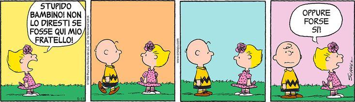 11 maggio 2016 Peanuts