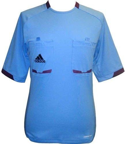 adidas Referee 12 Soccer Jersey - Columbia Blue