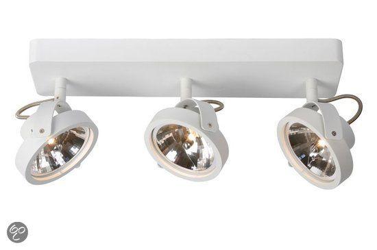 bol.com | Zuiver Opbouw Plafond Spot Dice - 3 spots - Wit | Wonen