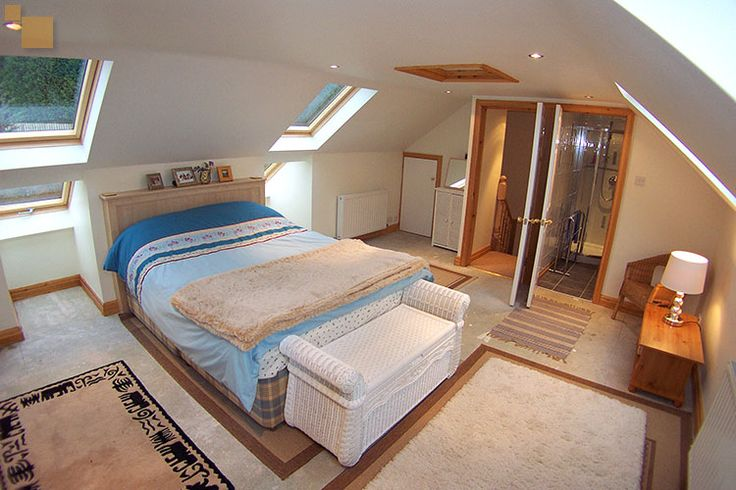 The Loft Conversion Bedroom And Ensuite Shower Conversions Is Designed Arranged In To Home