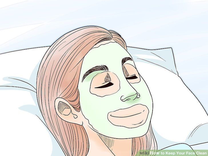 How To Keep Your Face Clean Clean Face Face Cleaning