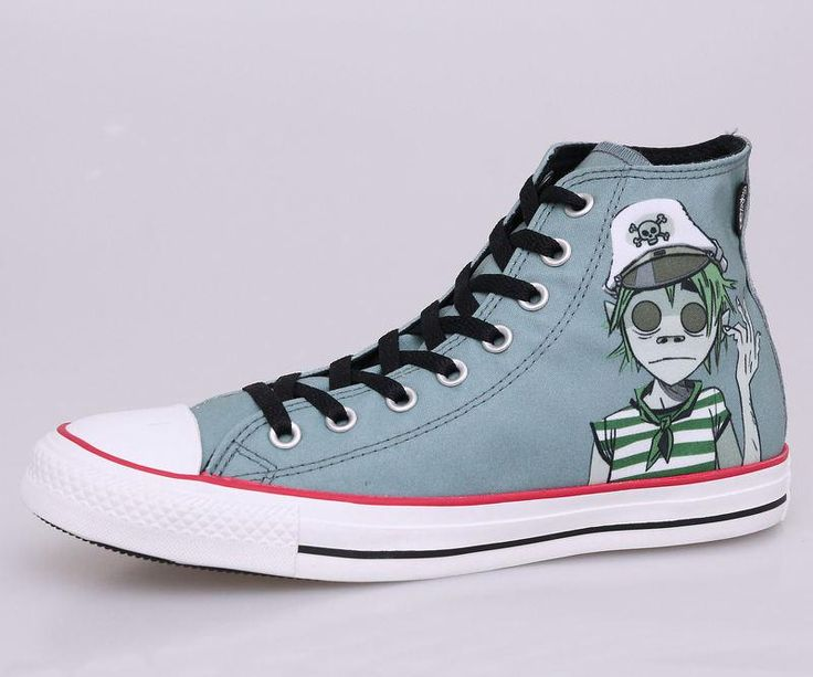 Need these! Converse with 2-D from the Gorillaz on them.