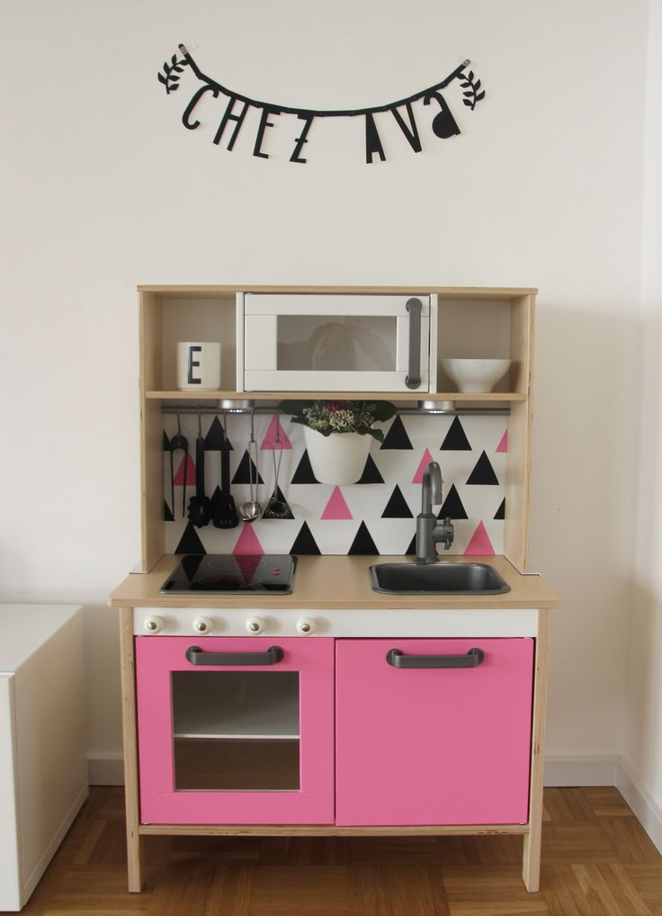 avas kinderk che ikea duktig unser haus pinterest ikea. Black Bedroom Furniture Sets. Home Design Ideas