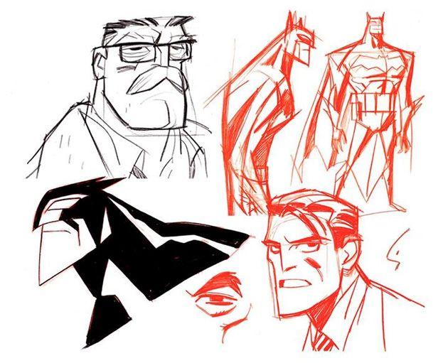 """Shane Glines' Designs for """"Beware The Batman!"""""""