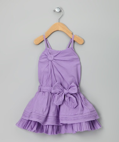 Take a look at this Lilac Citronelle Dress - Girls by Eliane et Lena on #zulily today! http://www.zulily.com/invite/vhanson979