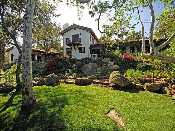Hacienda Home Style Interior Design | Spanish Hacienda In Santa Barbara | iDesignArch | Interior Design ...