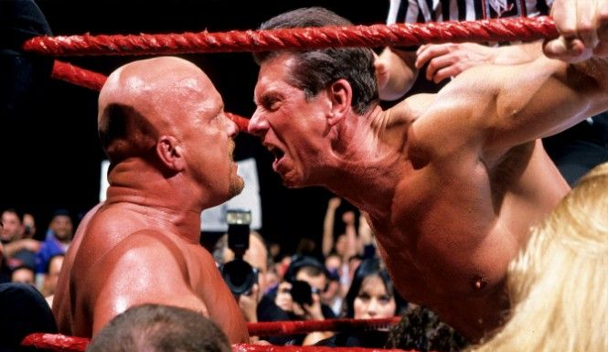 WWE and it's Attitude Era were big. WWE was able to give us something that, in this specific time, we needed. As fans and as people, WWE was able to give us a