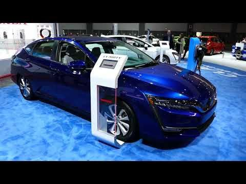 (48) New 2018 Honda Clarity Plug-In Hybrid Vehicle - Exterior Tour - 2017 LA Auto Show - YouTube