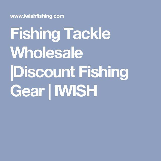 Fishing Tackle Wholesale |Discount Fishing Gear | IWISH
