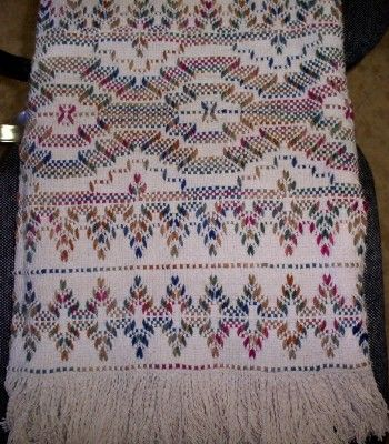Swedish Weaving Club: Candy's Afghans