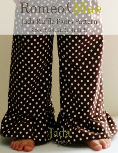 Ruffle Toddler Pants-these are the pants I've been making for ML