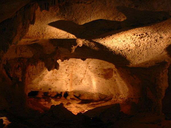 Cuevas de las Maravillas cave - covered in ancient Taino cave paintings