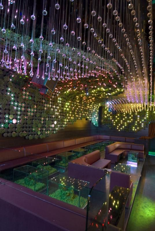 The Greenhouse Nightclub Interior by bluarch Architecture » CONTEMPORIST