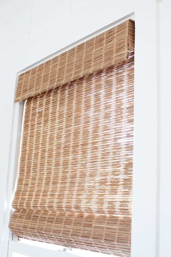 Select Blinds | Good Housekeeping | Jute Wheat Window Shade | The Lettered Cottage
