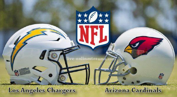 Arizona Cardinals Vs Los Angeles Chargers Los Angeles Chargers Arizona Cardinals Cardinals