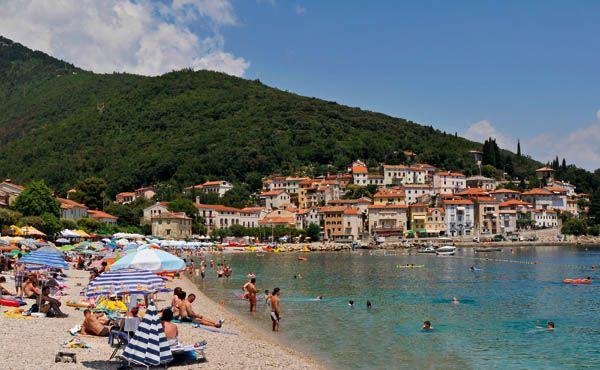 Beach #Opatija #croatia  www.casademar.com