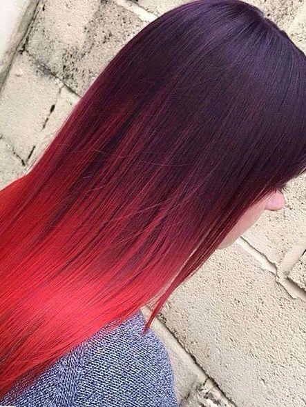 Haare kurz ombre