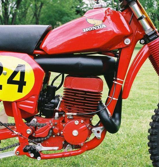 1976 Honda Rc500 Of Andre Malherbe Vintage Mx Pinterest