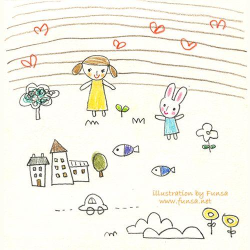 illustration, drawing, linedrawing, pen, doodle, Funsa, 일러스트, 드로잉, 스케치북, 펀사
