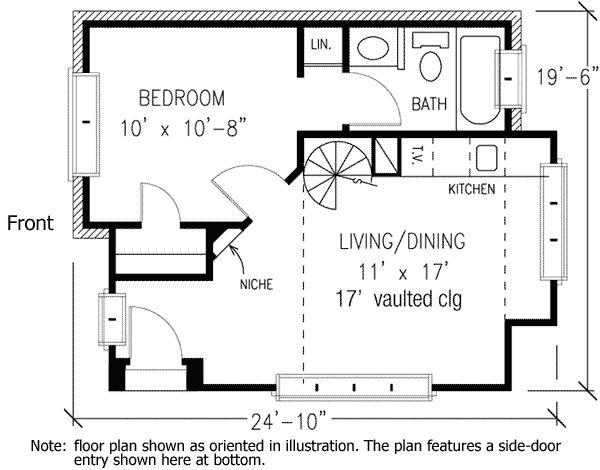 Cabin Floor Plan With Loft Plans Free Download Cabin floor plans