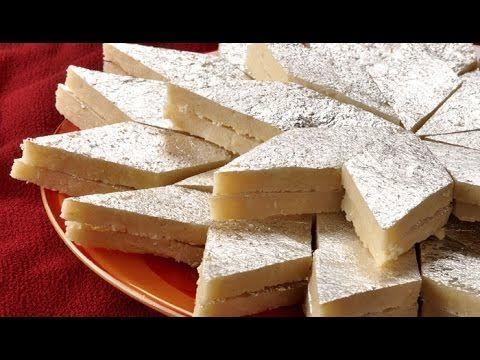 Cashew Burfi/ Kaju Katli/ Cashew Fudge
