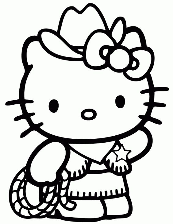Google Hello Kitty Coloring Pages : Best coloring hello kitty images on pinterest