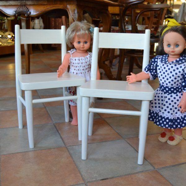 Dětské starožitné židle
