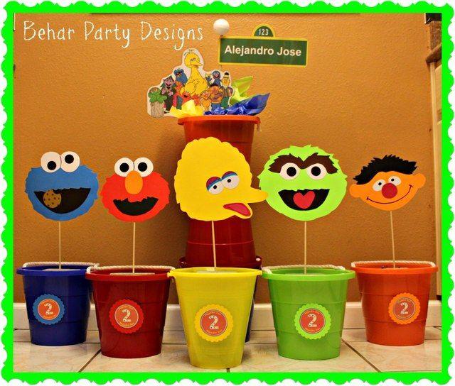 "Photo 1 of 6: Sesame Street / Birthday ""Alejandro Jose's 2nd Sesame Street Birthday Party"" | Catch My Party"