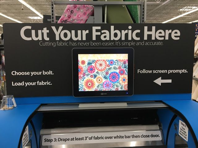 Sew-To-Fit: Buyer Beware: June Tailor Fabric Cutter Kiosk