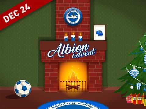 Brighton & Hove Albion Advent day 24