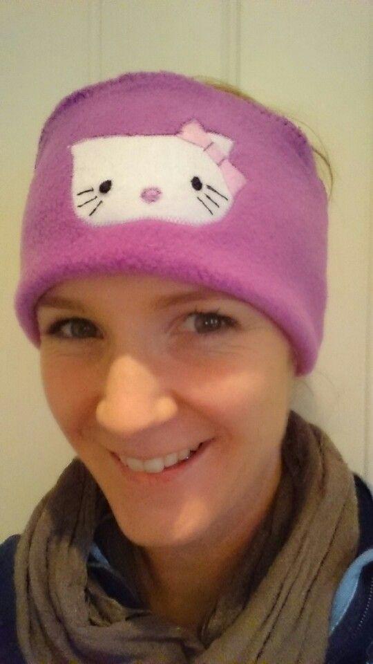 Homemade Hello Kitty headband