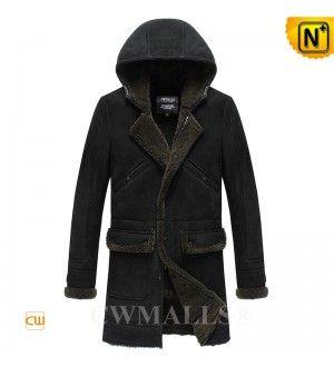 Mens Shearling Coat CW838009 www.cwmalls.com