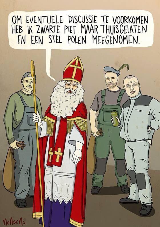 'n Intellectueel's Reis naar het Niets: Dag 393 Democratie is online stemmen op wèl of géén Sinterklaas en Zwarte Pietenfeest