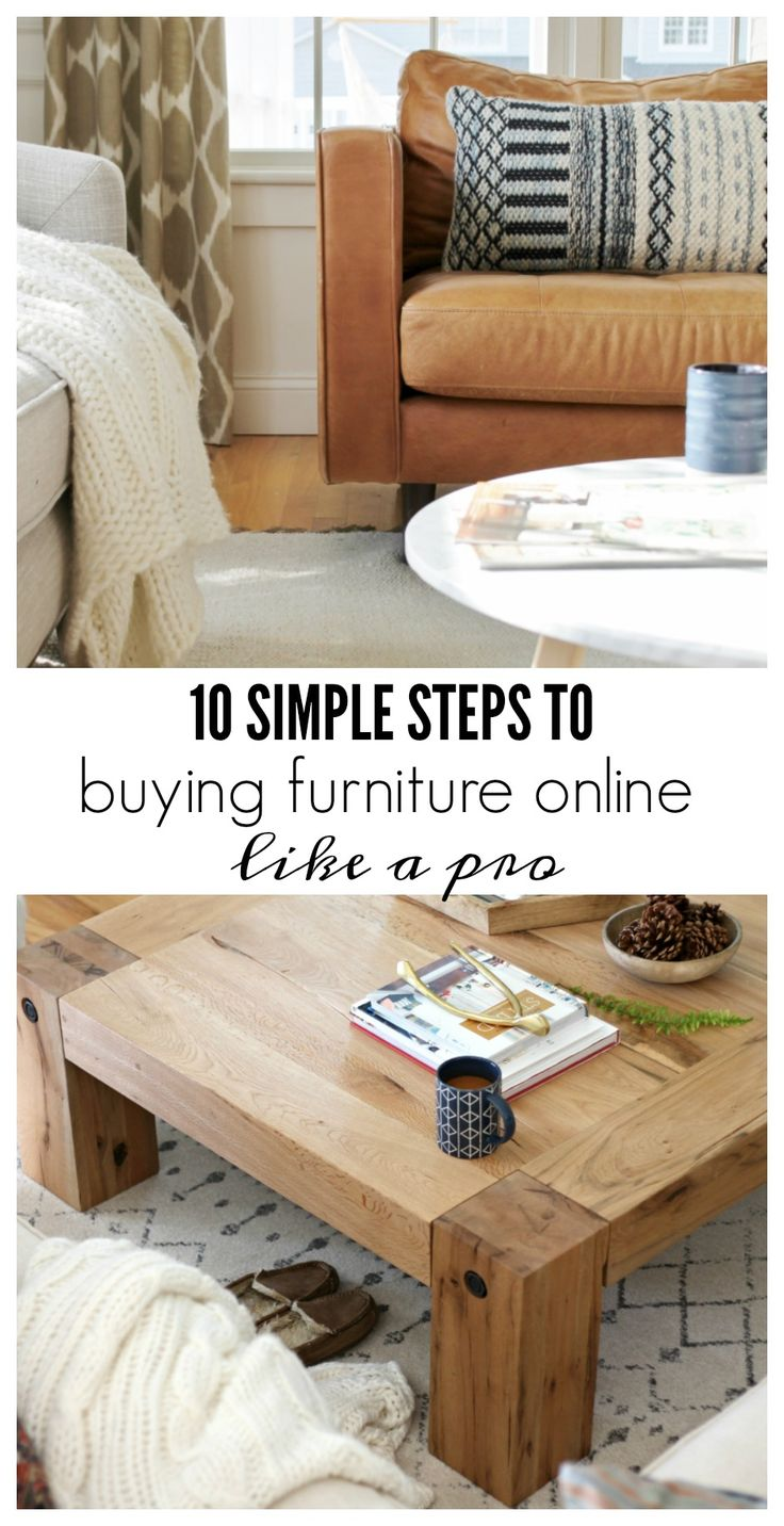 ❤COTP & R, great advice for decorating, check profile.❤ Buying furniture online can be tricky, I know from personal experience. Follow these 10 simple steps and you will be buying furniture online like a pro.