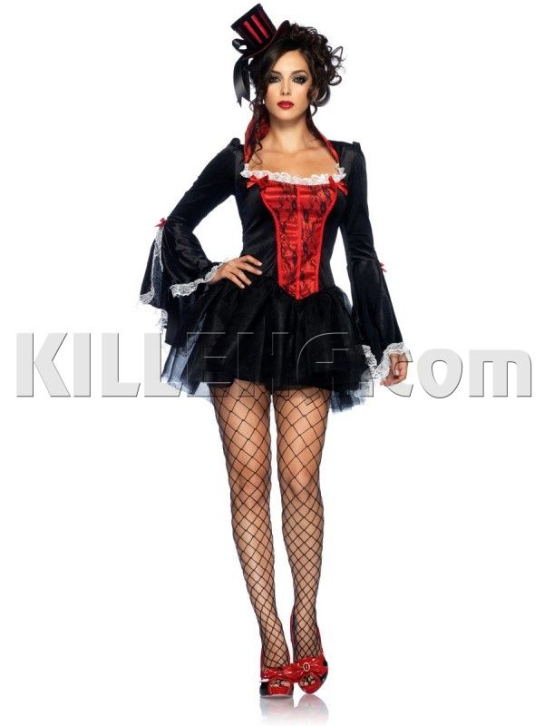 Бархатное платье вампира | Вампиры | Костюмы Killena | Leg Avenue