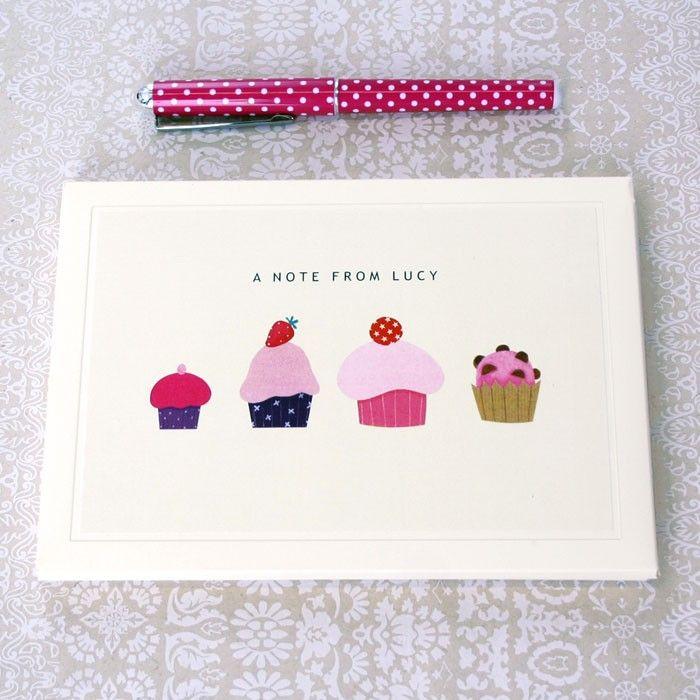 Personalised Cakes Writing Set by madebyellis.com