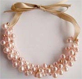 Lindas bijuterias com pérolas – Passo a passo