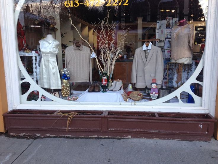 our shop windows are dressed and changed by even, theme and holidays