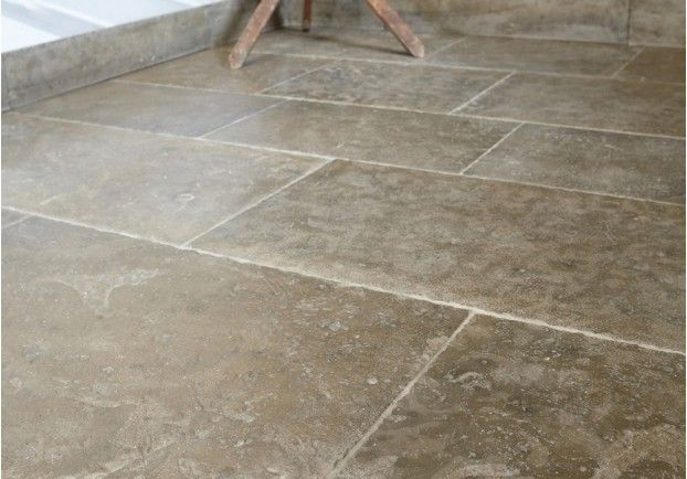 Lincolnshire Grey Limestone Tiles - a classically beautiful English stone, with real character and style.