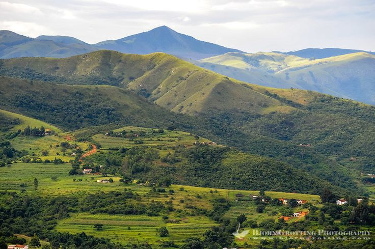 swaziland | Landscape close to Matsamo, a South Africa-Swaziland border crossing ...