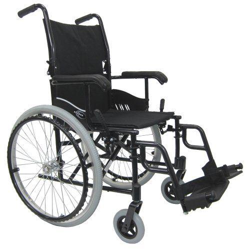 Karman 24 pounds LT-980 Ultra Lightweight Wheelchair Black - http://wheelchairshandy.com/karman-24-pounds-lt-980-ultra-lightweight-wheelchair-black/