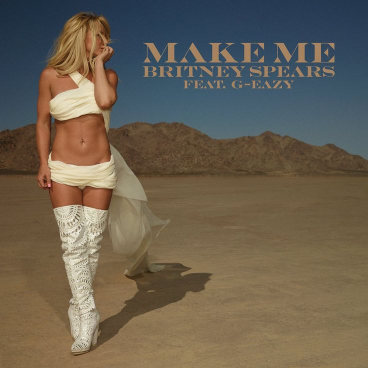 "The wait is finally over, Britney fans. Britney Spears has officially released the first single from her upcoming ninth studio album.  The sexy summer single, titled ""Make Me,"" features up-and-coming rapper G-Eazy. ""I just want you to make me move like it ain't a choice for you, like you got a job to do,"" Spears sings. ""Just want you to raise my roof, something sensational. And make me ooh, ooh, ooh."""